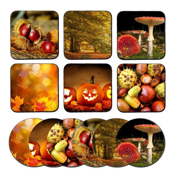 Herfst onderzetters