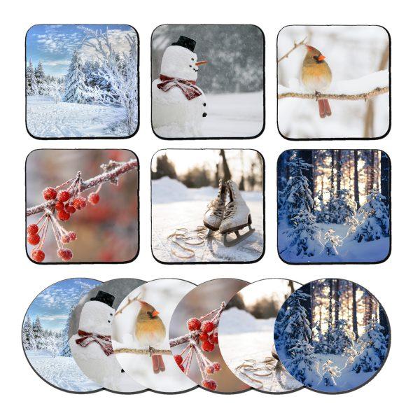 winter onderzetters