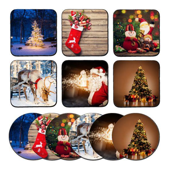 kerst onderzetters
